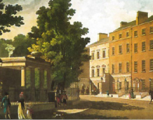 Malton Print of Rutland Square. Image courtesy of Dublin City Library and Archive