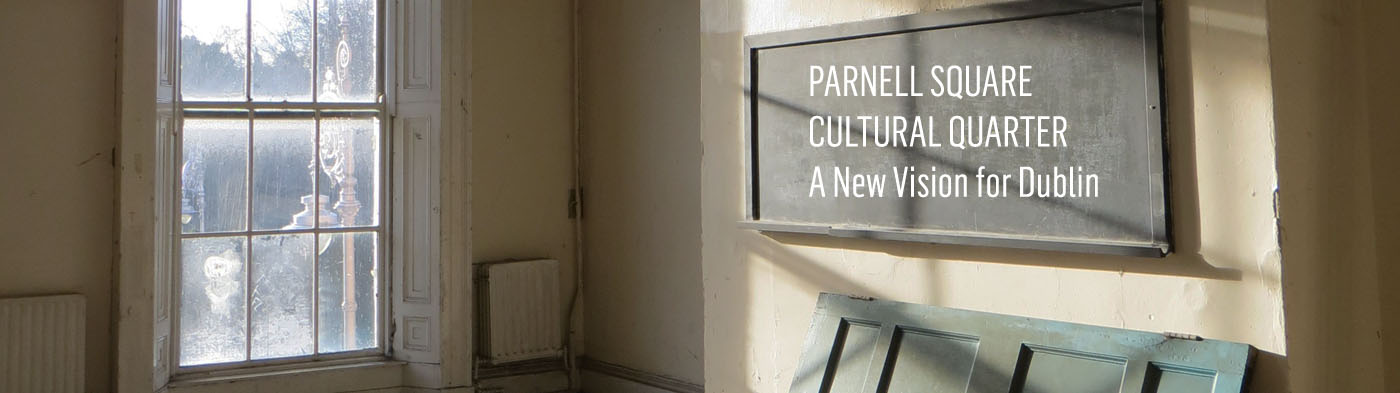 Parnell Square Cultural Quarter Project Partners. Image © Dublin City Council.