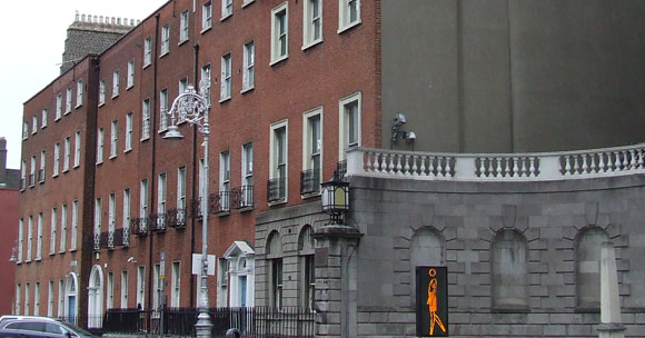 Nos. 23 to 28 Parnell Square North. Image © Dublin City Council