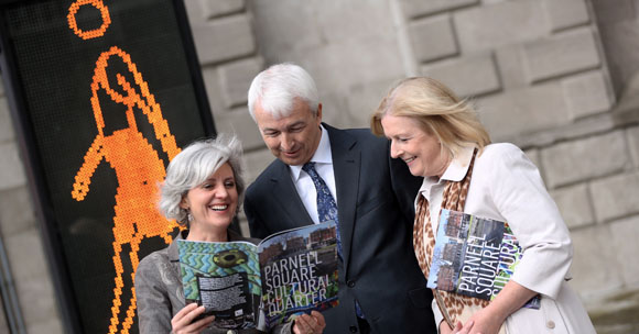 Launch of Parnell Square Cultural Quarter. Image © Dublin City Council.