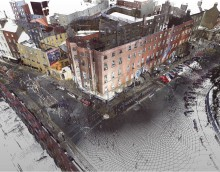 Survey image of Parnell Square North. Image © Dublin City Council.