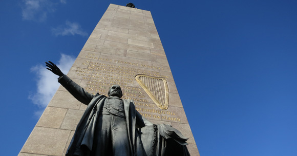 Parnell Monument. Image copyright Dublin City Council (Photographer Greg Dunn)