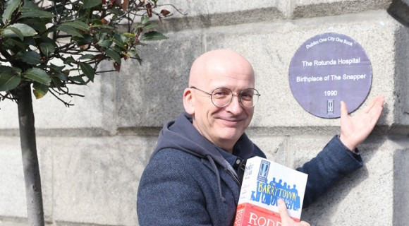 Dublin: One City One Book 2015. Roddy Doyle's Barrytown Trilogy. For events programme see www.dublinonecityonebook.ie. Picture Jason Clarke Photography.