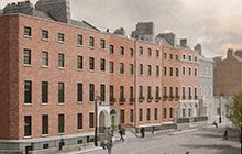 CGI image of Parnell square Cultural Quarter and the new City Library. Image © Picture Plane Ltd.