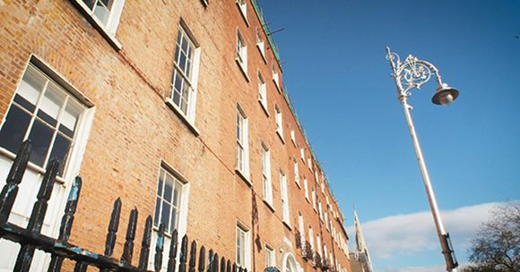 Screenshot from Parnell Square Cultural Quarter Film